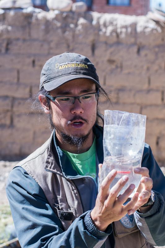 Agriculture urbaine à Sucre - un autre exemple de jardinière - http://paysansdavenir.com/agriculture-urbaine-pourquoi-comment-lexemple-de-la-bolivie/